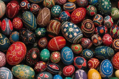 Målade sorbiska ägg